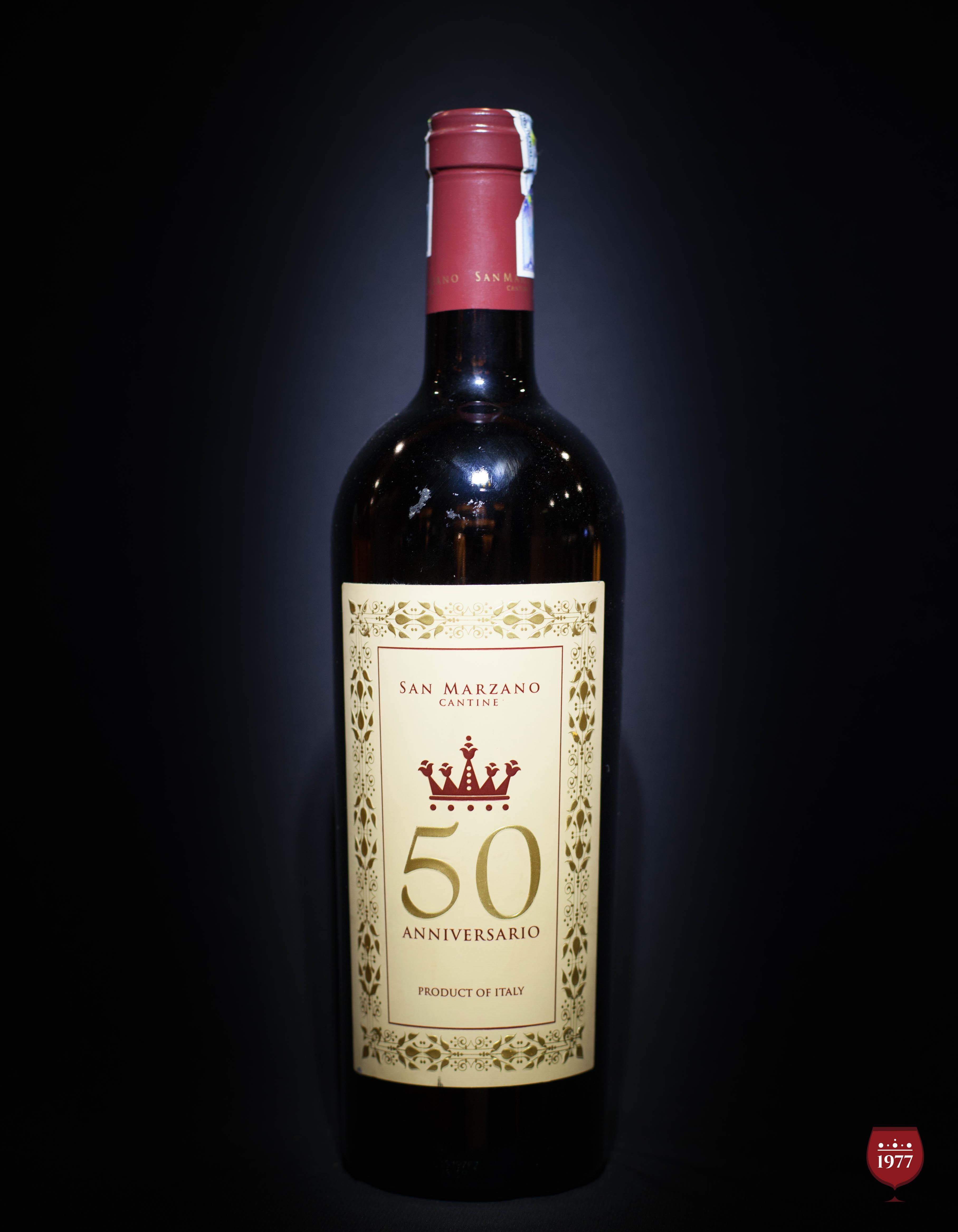 Rượu Vang Ý Cao Cấp 50 Anniversario