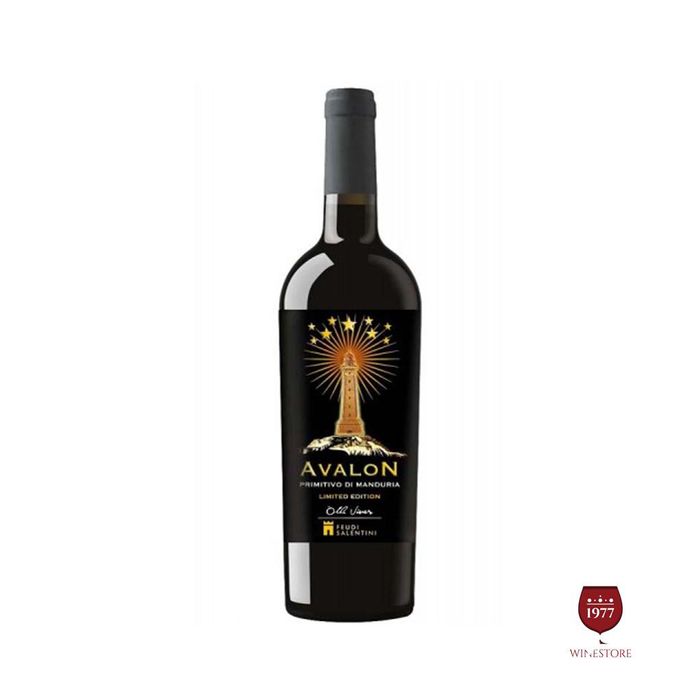 Rượu Vang Ý Cao Cấp AVALON 2015 Primitivo Di Manduria