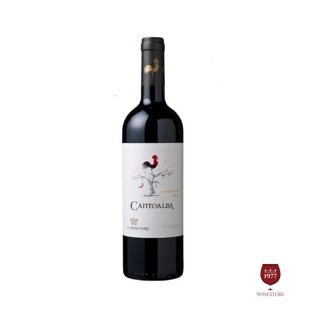 Rượu Vang Chile Cantoalba Carmenere 2015