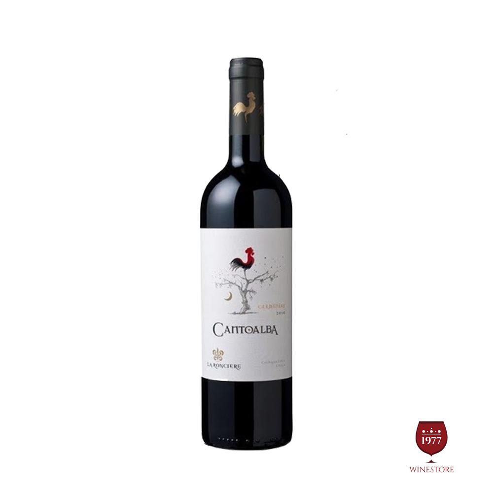 Rượu Vang Chile Cantoalba Shiraz 2015