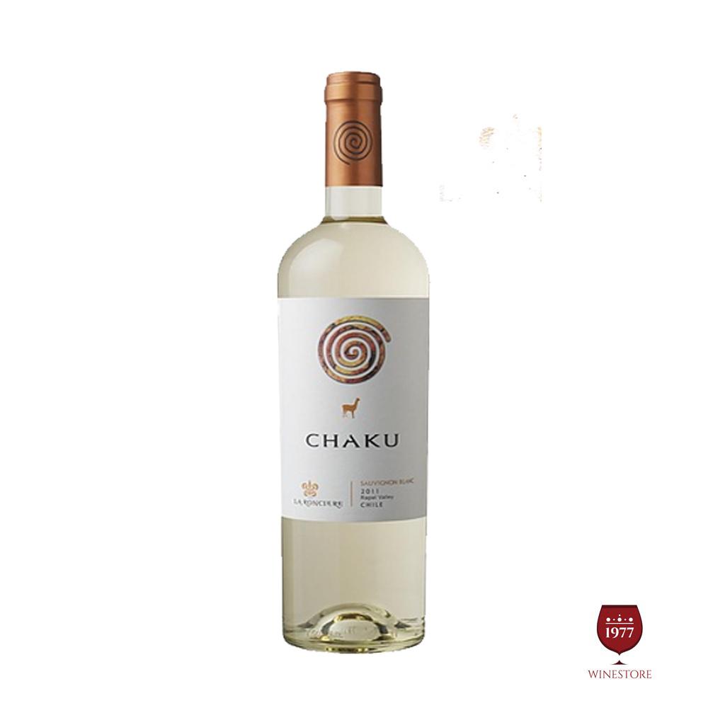 Rượu Vang Chile Chaku Sauvignon Blanc 2015