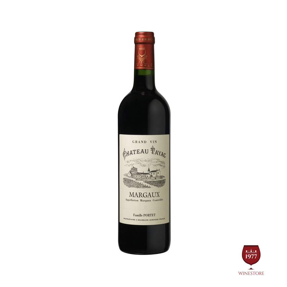 Rượu Vang Pháp Chateau Tayac Plaisance Margaux Cru Bourgeois 2013