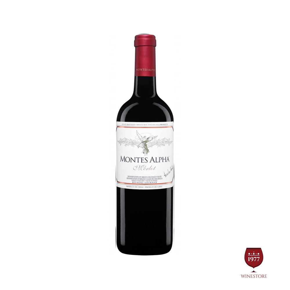 Rượu Vang Chile Montes Alpha Merlot