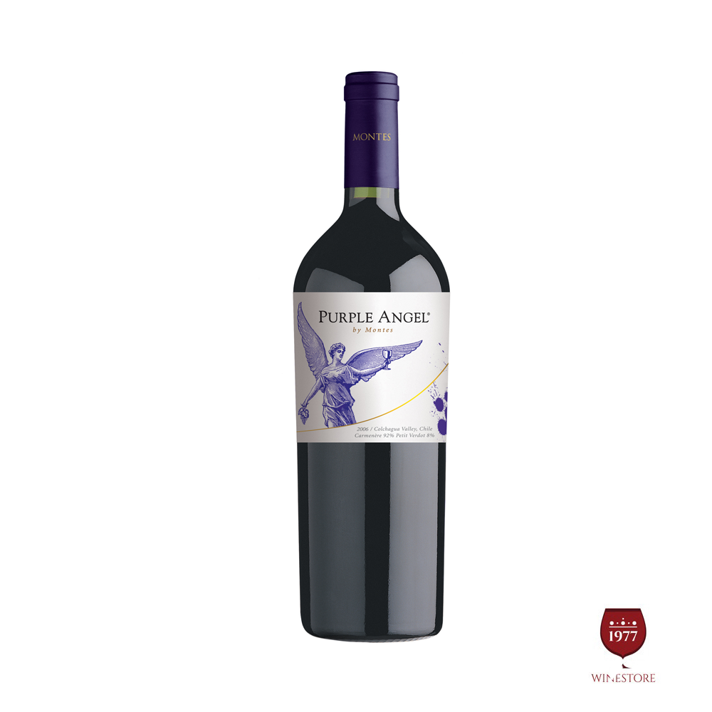 Rượu Vang Chile Cao Cấp Montes Purple Angel Carmenere