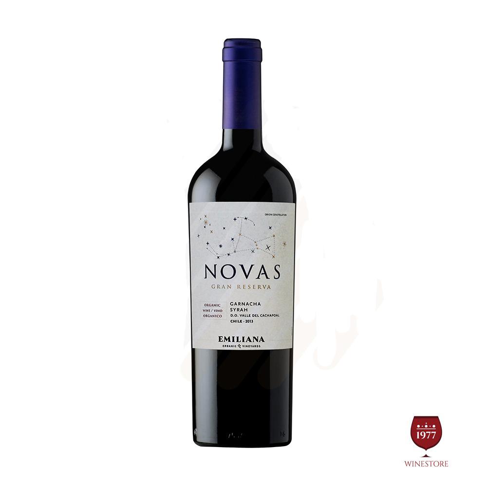 Rượu Vang Chile NOVAS 2013 Gran Reserva Garnacha Syrah