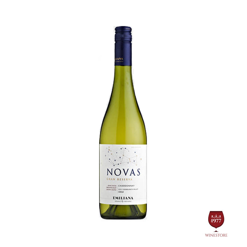 Rượu Vang Chile Novas Gran Reserva Chardonnay