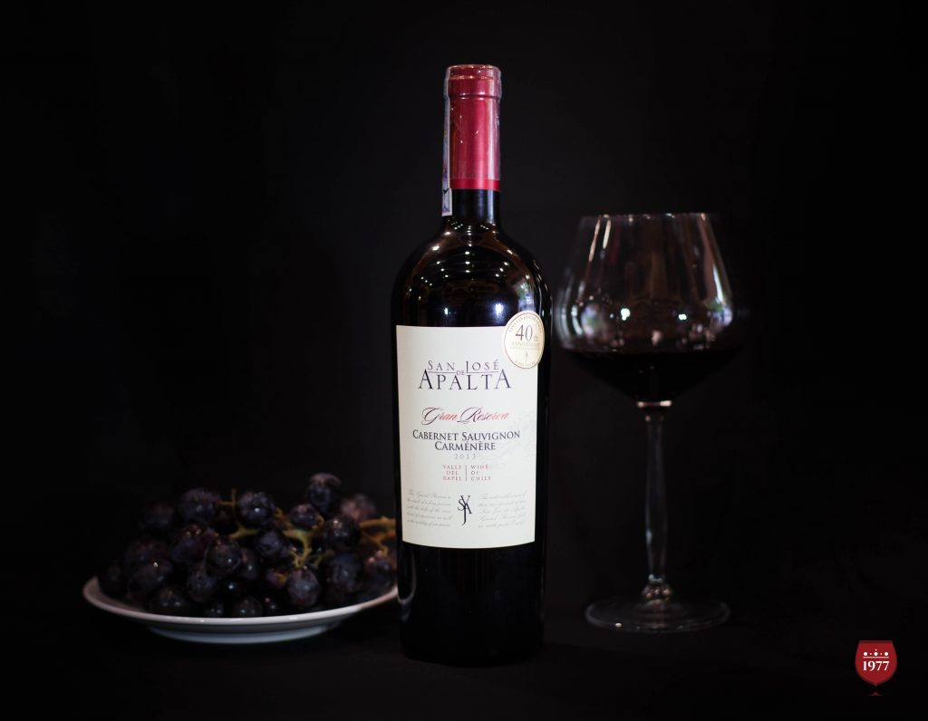 rượu vang San Jose de APALTA Gran Reserva Cabernet Sauvignon
