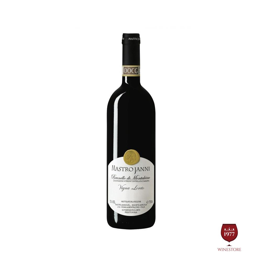 Rượu Vang Ý Brunello di Montalcino Vigna Loreto 2009