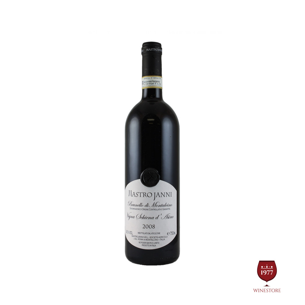 Rượu Vang Ý Cao Cấp Brunello di Montalcino Vigna Schiena d Asino 2008