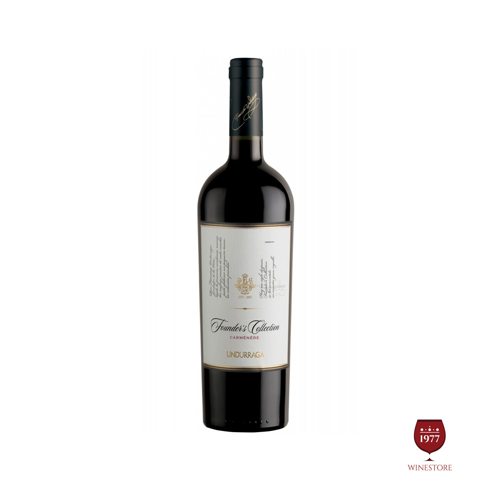 Rượu Vang Chile Undurraga Founders Collection Carmenere
