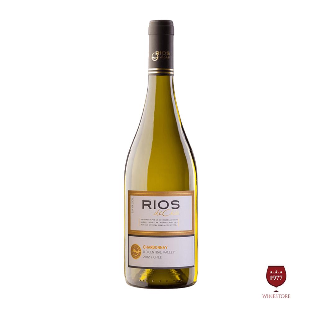 Rượu Vang Chile Rios Chardonnay