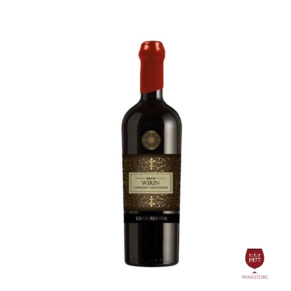 Rượu Vang Chile WIRIN Gran Reserva Cabernet Sauvignon