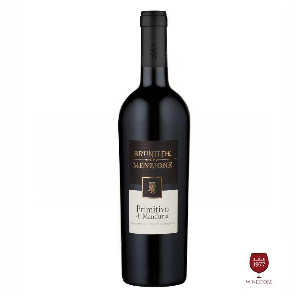 Rượu Vang Ý Brunilde Menzione Primitivo