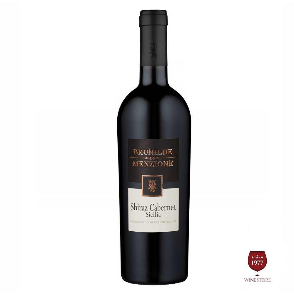 Rượu Vang Ý Brunilde Menzione Shiraz Cabernet