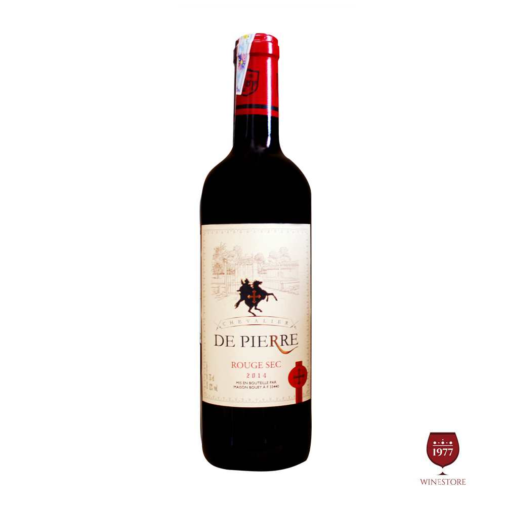 Chevalier De Pierre Rouge Sec 2014