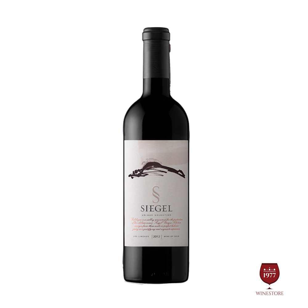 Rượu Vang Chile Siegel Unique Selection 2012