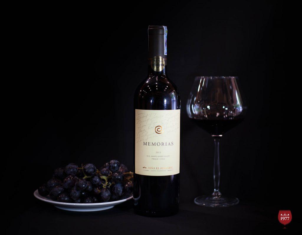 rượu vang MEMORIAS