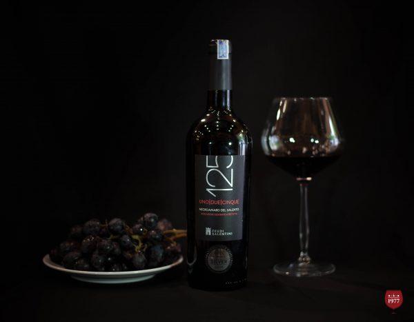 rượu vang 125 NEGROAMARO Del Salento 2014