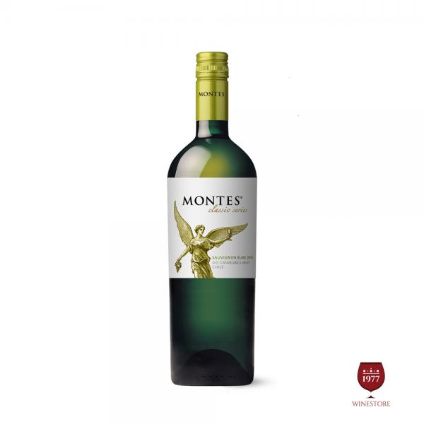 Rượu Vang Montes Classic Series Sauvignon Blanc – #1 Vang Trắng Chile
