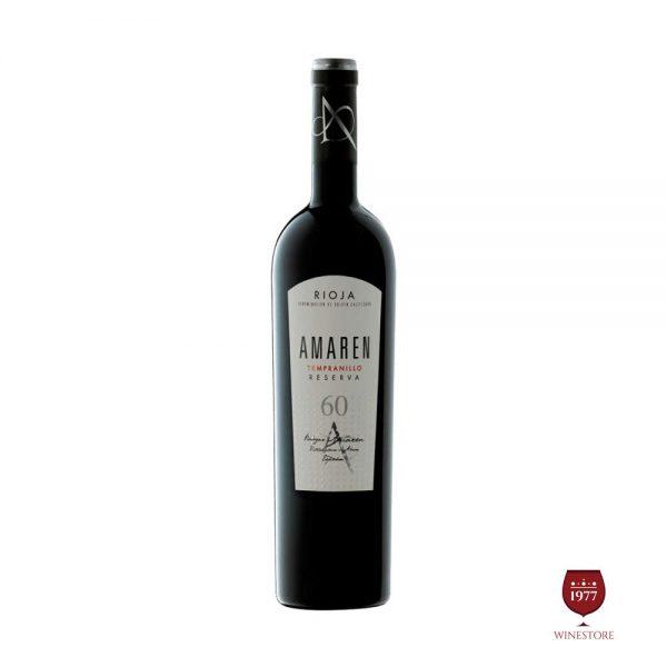 Rượu Vang Amaren 60 – Vang Tây Ban Nha Thượng Hạng