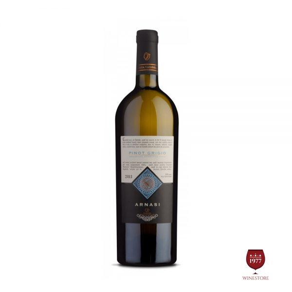 Rượu Vang Arnasi 2015 Pinot Grigio – Vang Ý Cao Cấp Giá Tốt
