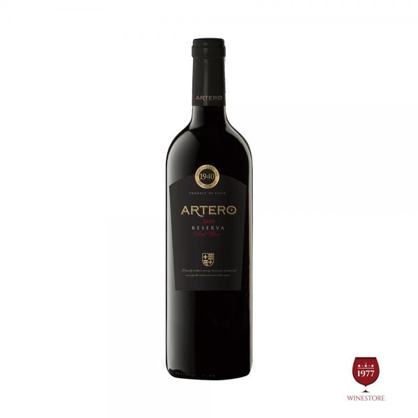 Rượu Vang Artero Reserva – Vang Tây Ban Nha Chính Hãng