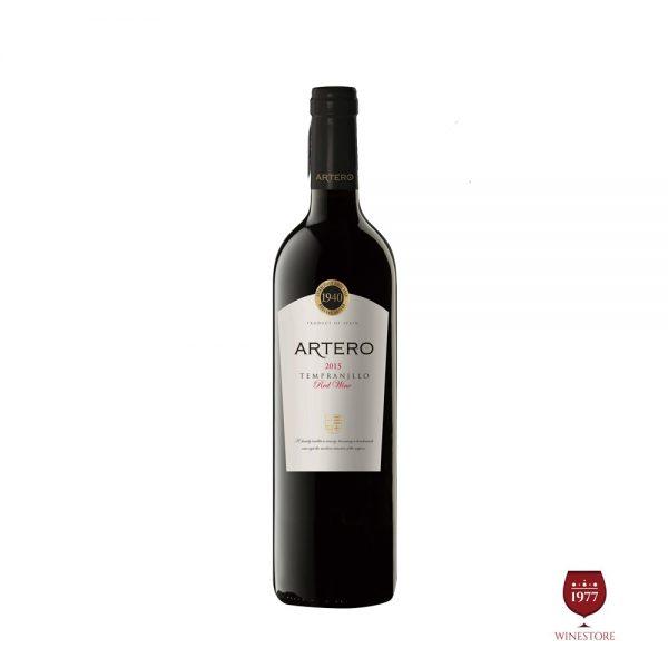 Rượu Vang Artero Tempranillo – Vang Tây Ban Nha Giá Tốt