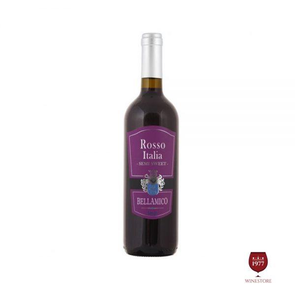 Rượu Vang Ngọt Bellamico Rosso – Vang Ý Giá Rẻ