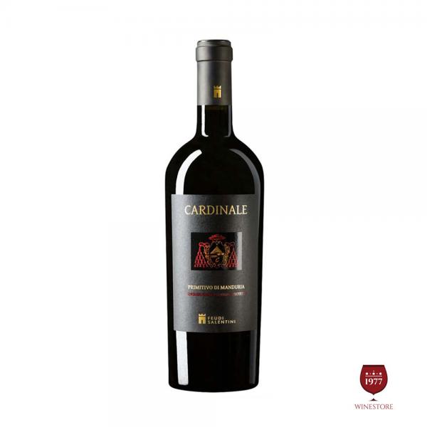 Rượu Vang Cardinale 2013 Primitivo Di Manduria – Vang Ý Nhập Khẩu