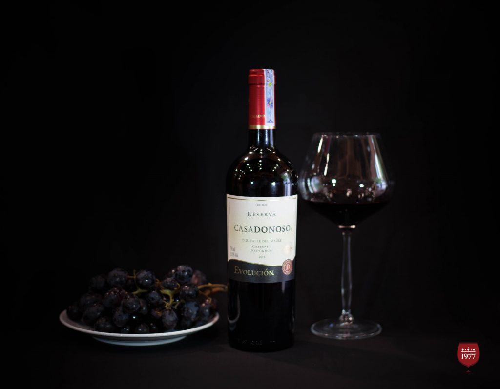 rượu vang CASADONOSO Evolucion Reserva Cabernet Sauvignon