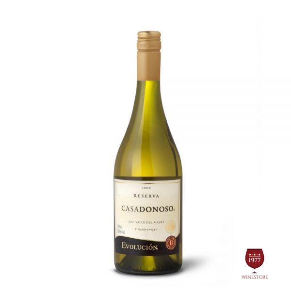 Rượu Vang Chile CASADONOSO Evolucion Reserva Chardonnay