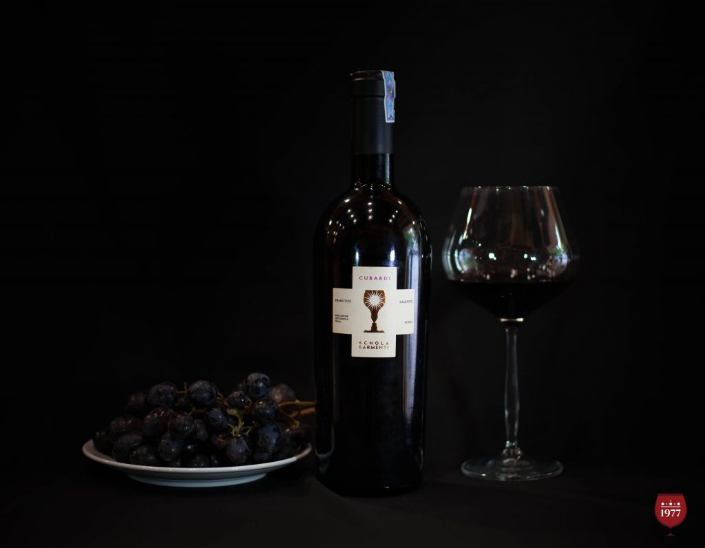 rượu vang CUBARDI IGT Primitivo
