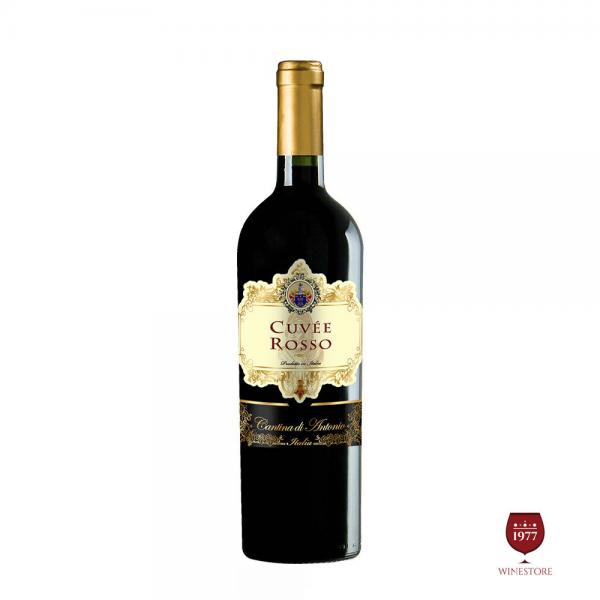Rượu Vang Cantina di Antonio Cuvee Rosso – Vang Ý Chính Hãng