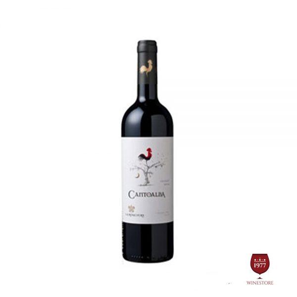Rượu Vang Cantoalba Malbec – Vang Chile Chính Hãng Giá Tốt