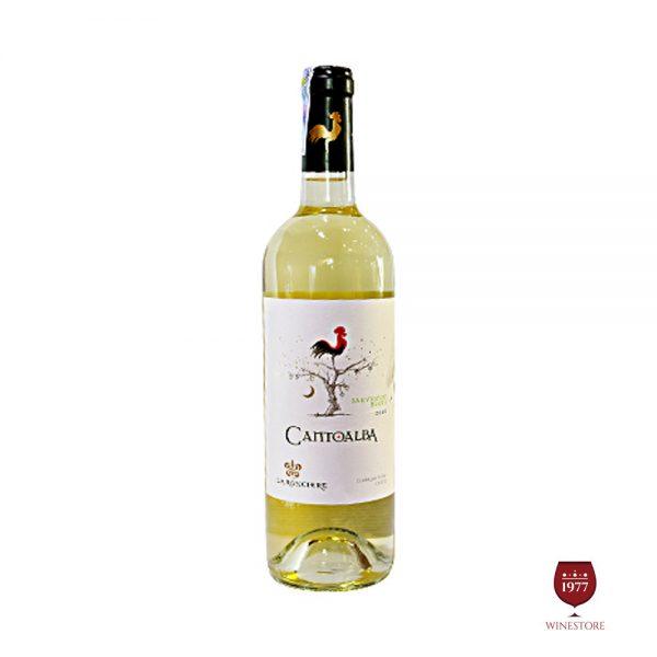 Rượu Vang Cantoalba Sauvignon Blanc – Vang Trắng Chile Giá Tốt