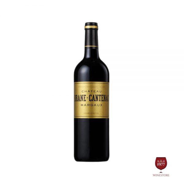 Rượu Vang Chateau Brane Cantenac – Vang Pháp Cao Cấp