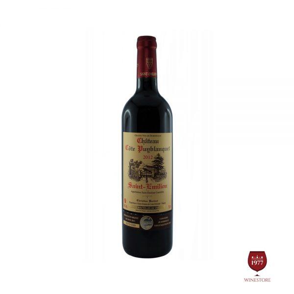 Rượu Vang Chateau Cote Puyblanquet – Vang Pháp Chính Hãng #1