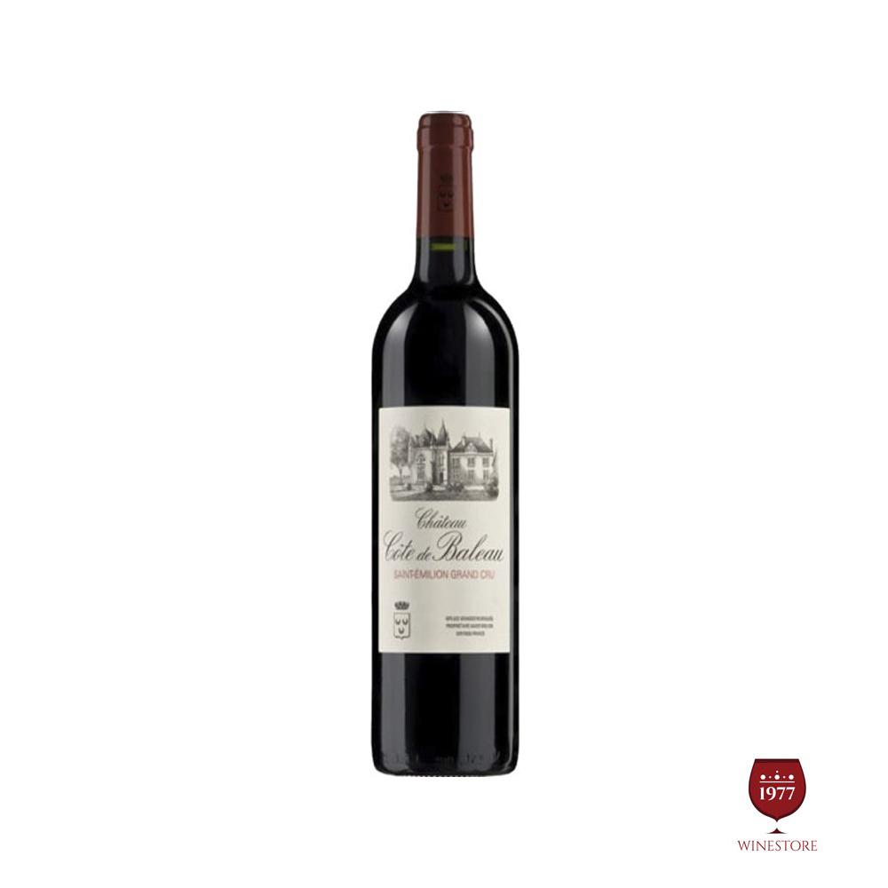 Rượu Vang Pháp Chateau Cote de Baleau Saint-Emilion