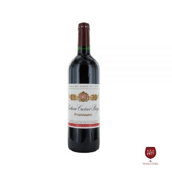 Rượu Vang Chateau Croizet Bages – Vang Pháp Thượng Hạng