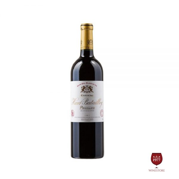 Rượu Vang Chateau Haut Batailley – Vang Pháp Pauillac Bordeaux