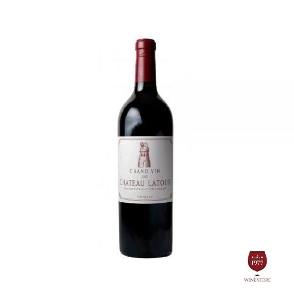 Rượu Vang Chateau Latour Grand Vin – Dòng Vang Pháp Cao Cấp