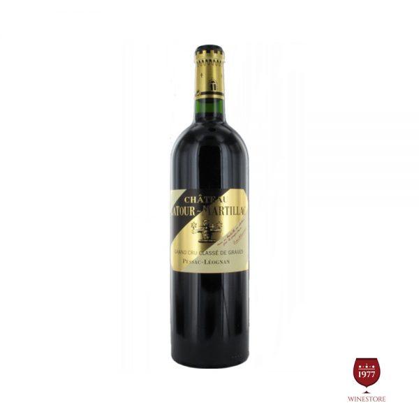 Rượu Vang Chateau Latour Martillac – Vang Pháp Thượng Hạng Giá Tốt