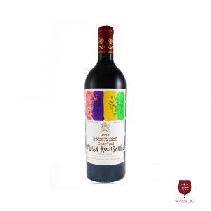 rượu vang Chateau Mouton Rothschild 2001