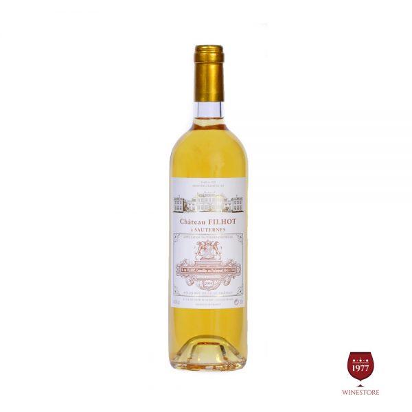 Rượu Vang Chateau Suau Sauternes – Vang Pháp Grand Cru Cao Cấp