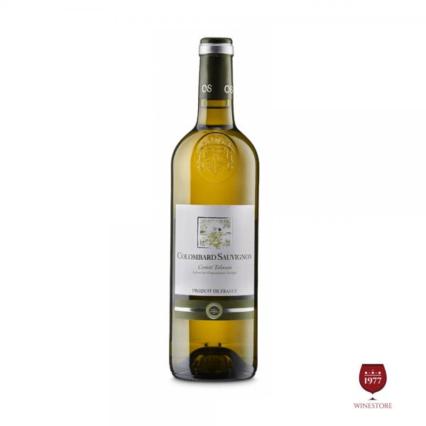Rượu Vang Comte Tolosan Colombard Sauvignon – Vang Pháp Nhập Khẩu