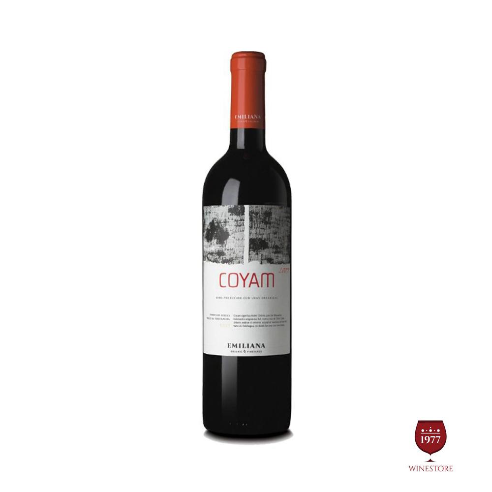 Rượu Vang Chile Coyam Blend