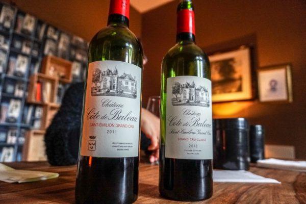 đặc điểm rượu vang pháp chateau cote de baleau
