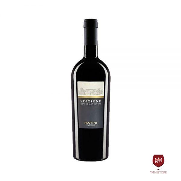 Rượu Vang Edizione Blend – Vang Ý Cao Cấp Nhập Khẩu Chính Hãng