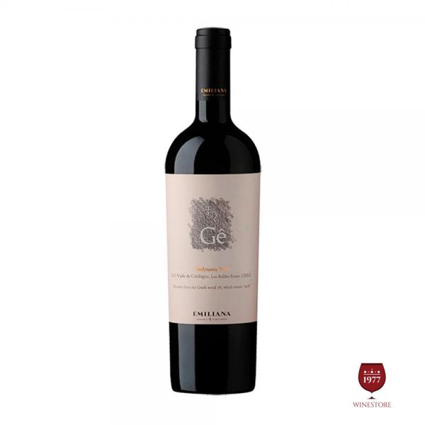 Rượu Vang Chile Cao Cấp Ge Ensamblaje