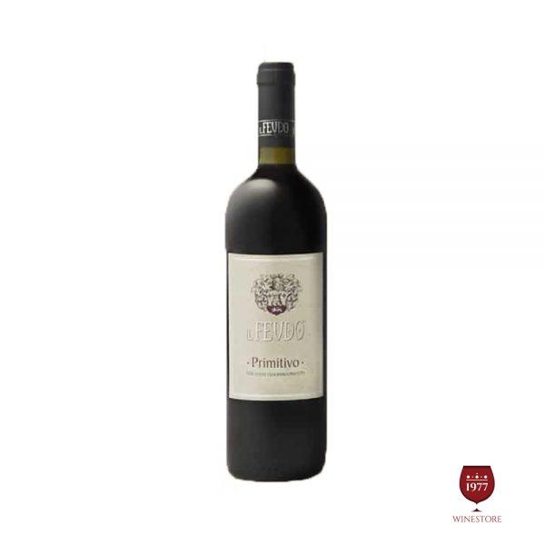 Rượu Vang IL Feudo Primitivo Puglia IGT – Vang Ý Giá Tốt